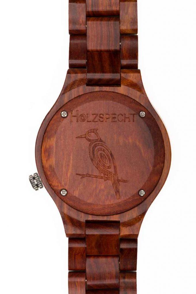 Holzspecht Wooden Watch Dachstein Red Sandalwood