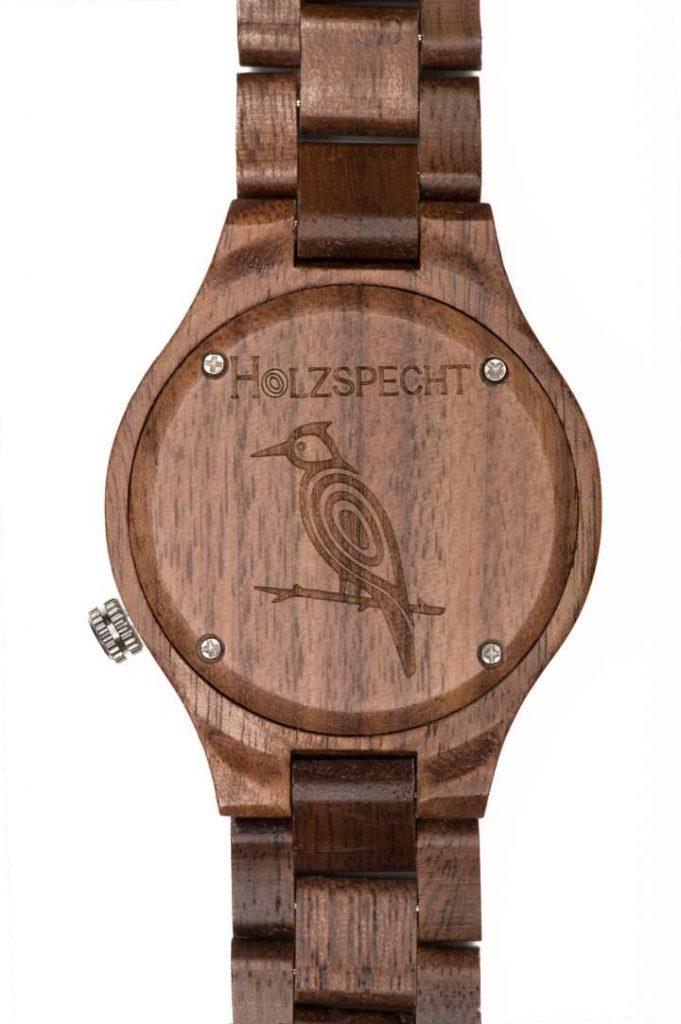 Holzspecht Wooden Watch Dachstein Walnut