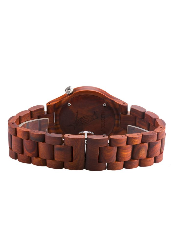 Holzspecht Wooden Watch Dachstein Red Sandalwood