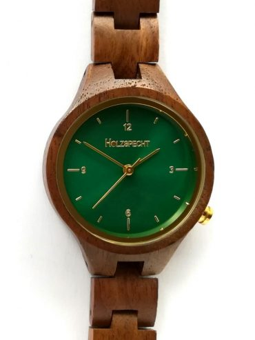 Wooden Watch Waldgoldstern Walnut