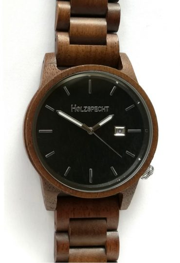 Wood Watch Wildensteiner Walnut Ebony