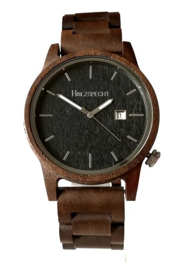 Wooden Watch Wildensteiner Walnut Ebony