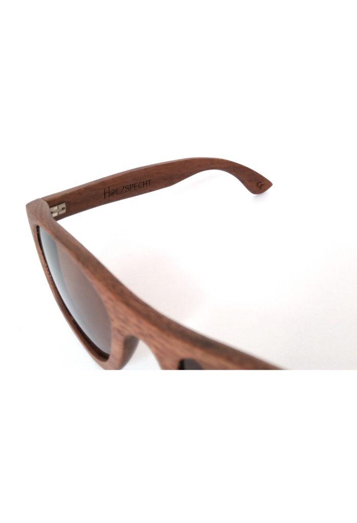 Holzsonnenbrille Weitblick Walnuss