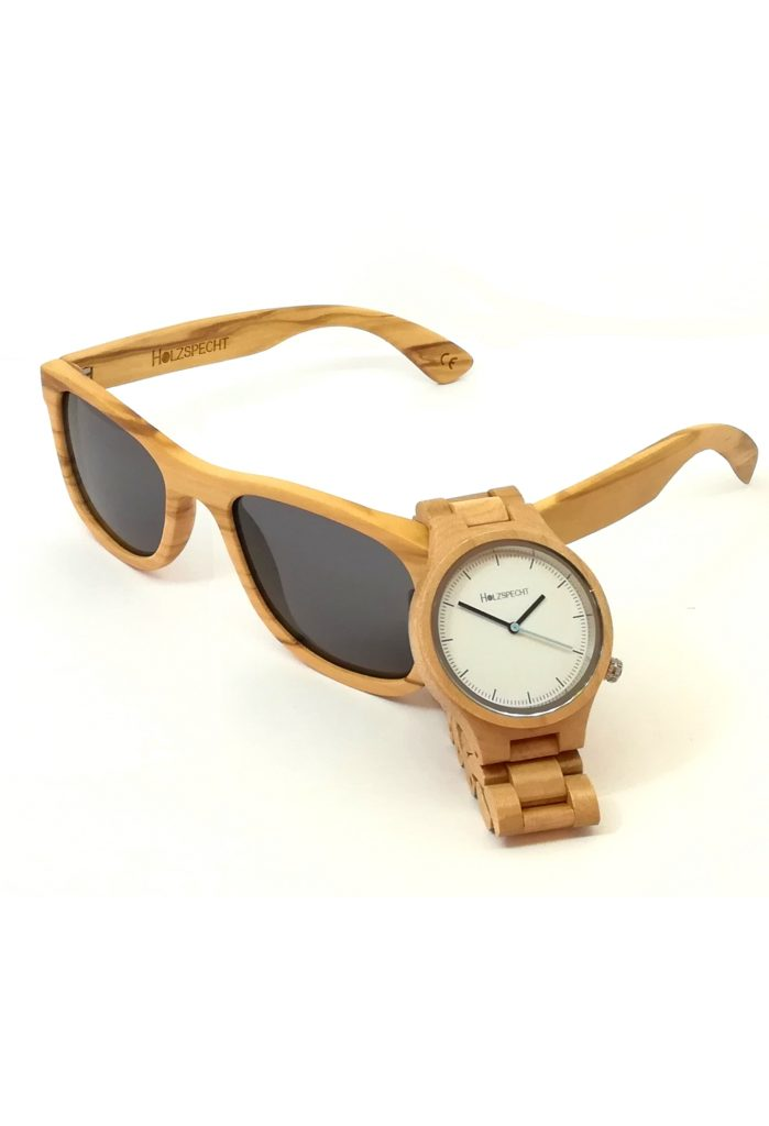Wooden Watch and Sunglasses Special Edition