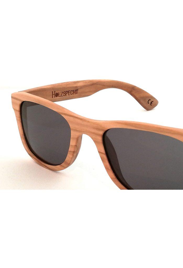 Holzsonnenbrille Weitblick Olive