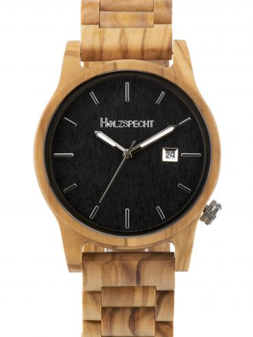Holzspecht Wooden Watch Wildensteiner Olive