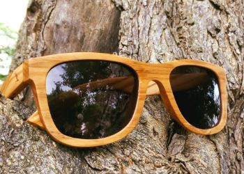 Sunglasses from Wood Weitblick Olive