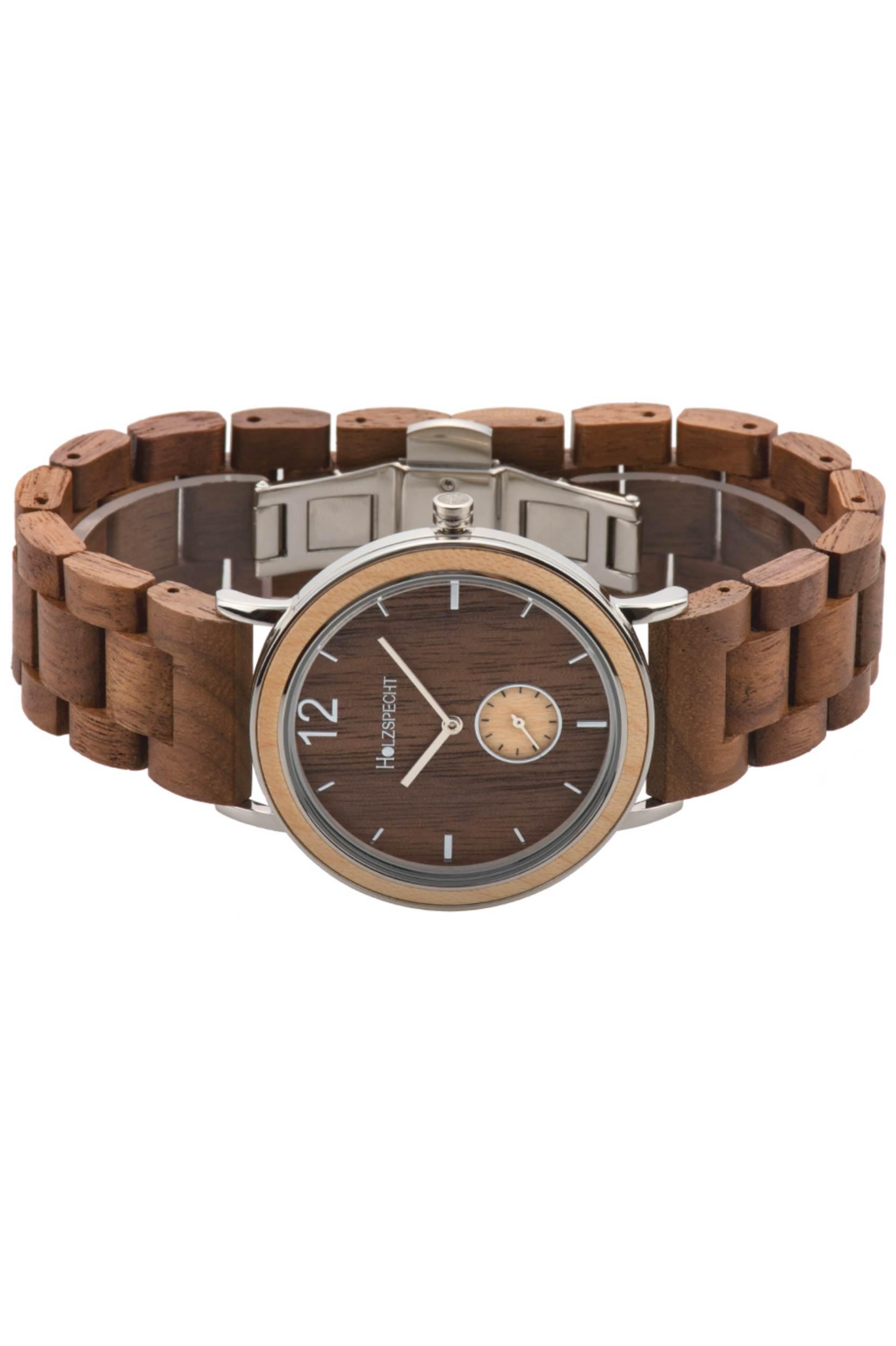 Holzspecht Wristwatch Karwendel Maple Walnut