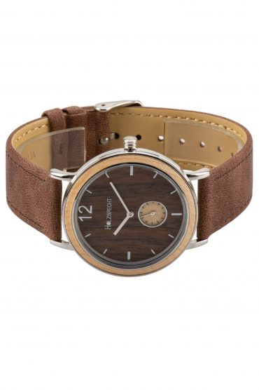 Holzspecht Wristwatch Karwendel - Wood and vegan Leather
