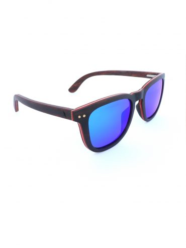 Wooden Sunglasses Mountain Sight Ebony