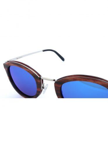 Holzspecht Sonnenbrille aus Holz Freiblick