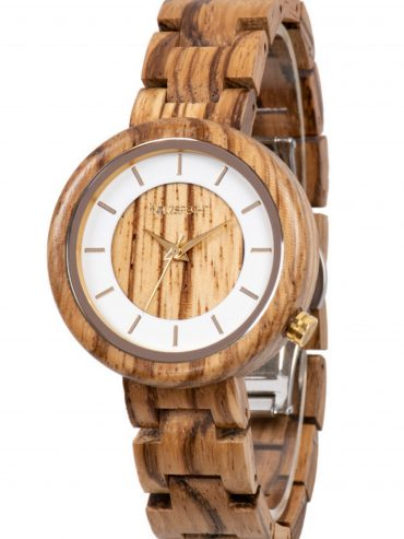 Holzspecht Wood Watch Sonnentaler Zebra Wood