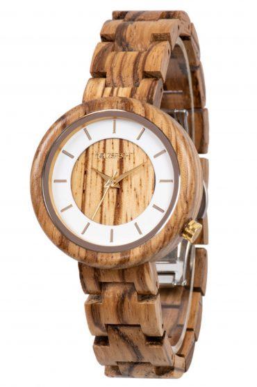 Holzspecht Wood Watch Sonnentaler Zebra Wood