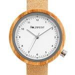 Holzspecht Armbanduhr aus Holz