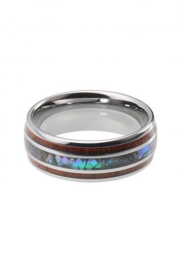 Wooden Tungsten Ring