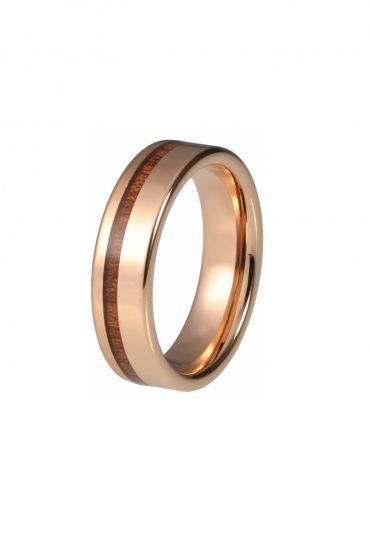 Tungsten Ring from Wood